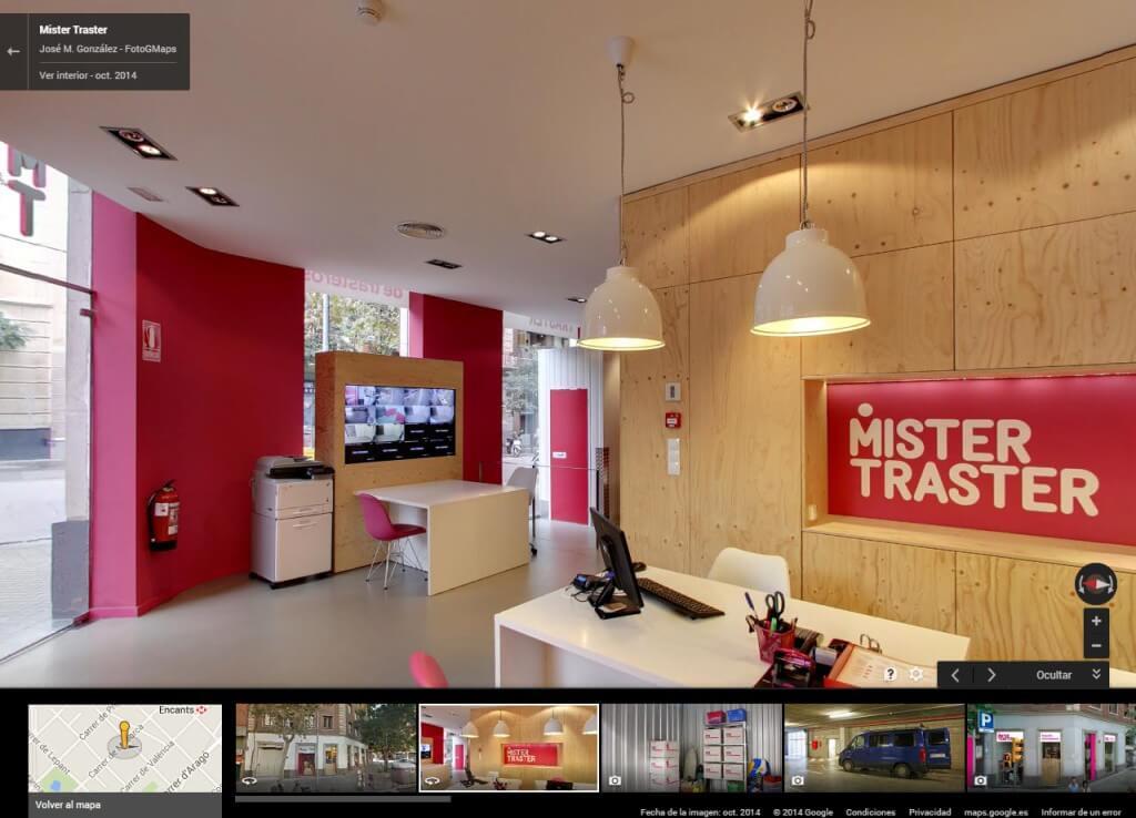 Nuestra empresa en My Business View de Google