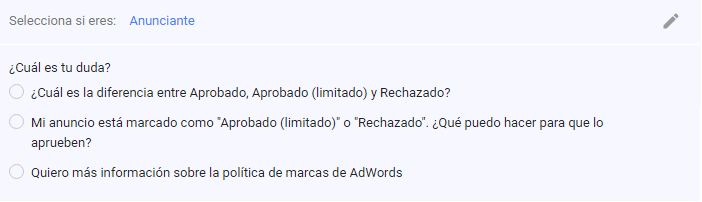 Uso de Marcas Comerciales en AdWords